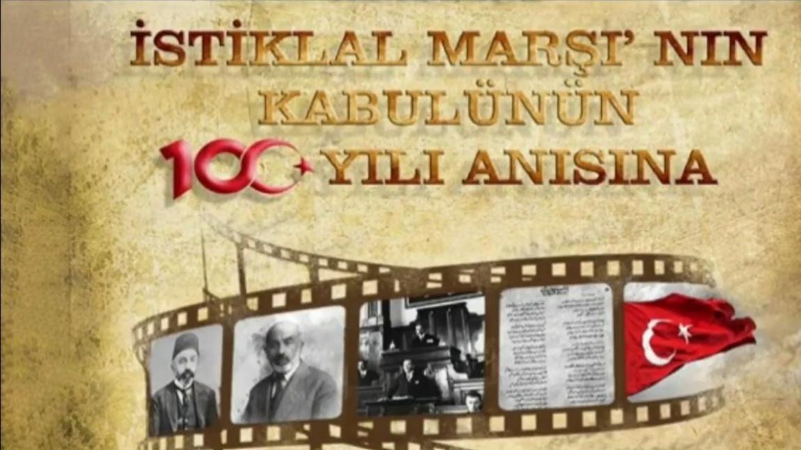 İSTİKLÂL MARŞININ KABULÜ VE MEHMET AKİF ERSOY'U ANMA GÜNÜ